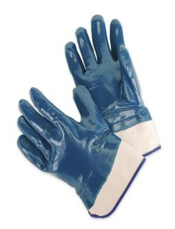 Heavy Duty Nitrile Supported Chemical Resistant Gloves  ##9460SP ##