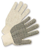 PVC Palm Dot String Knit Gloves  ##PD100 ##