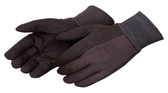 Brown Micro-dot Jersey Gloves  ##4504Q ##