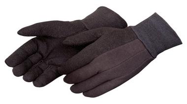 Brown Micro-dot Jersey Gloves  ##4504Q ##