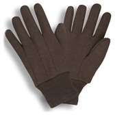 9oz Standard Weight Brown Jersey Gloves  ##345 ##