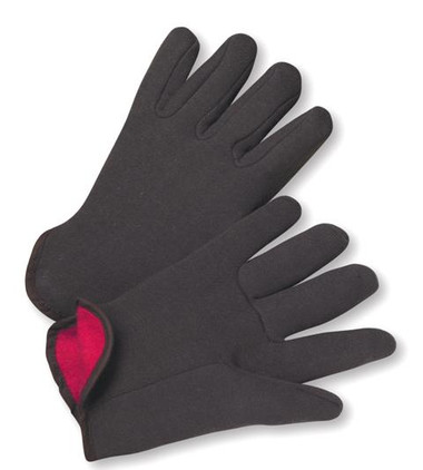 14oz Red Jersey Lined Gloves  ##4308Q/RM ##