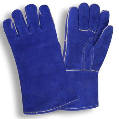 Blue Side Select Cowhide Welder's Gloves  ##600 ##