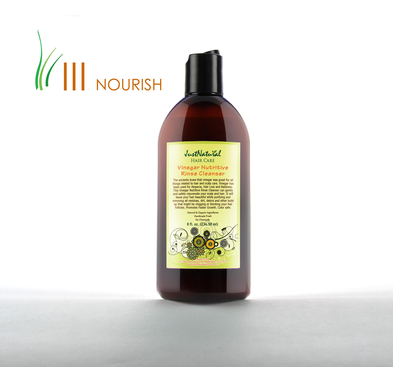 Just natural organic hair care bald spot treatment