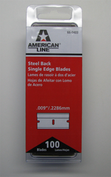 Single Edge Razor Blade Image