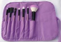 7 Piece Brush Set - Winter - Purple