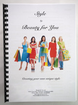 Style by Beauty for You - Creating your own unique personal Style - bound copy