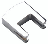 Cello Mute 2 Pronged Chrome Plated #CL5