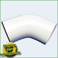 PVC 45 Degree Elbow Cover (Full Carton)