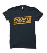 May the Fourth Be With You Slanted Tee