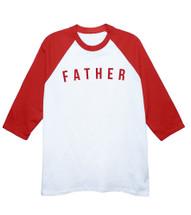 Retro Father Baseball T-Shirt