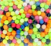 Keens Tackle and Guns Stock The Pre-drilled 8mm Fluroescent Sea Fishing Beads x 50
