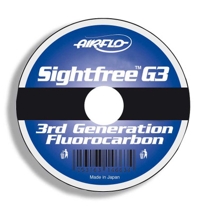 Keen's Tackle & Guns Stock the Airflo Sightfree G3 Flourocarbon Fly Leader with extremely good knot strength - buy one get one free!