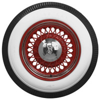 "Firestone 650-16 4"" White Wall"