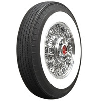"American Classic 670R15 2 3/4"" Whitewall (Bias Look Radial)"