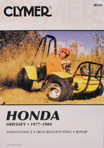 Honda FL 250 Odyssey CLYMER Repair Manual