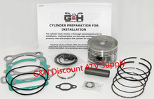 Yamaha YFM 350ER Moto-4 Cylinder Top End Rebuild Kit Machining Service