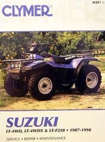 NEW Suzuki ATV LT4WDX LT300 300 King Quad Repair Manual