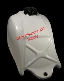 CLARKE Honda Atc 250SX Fuel Tank in white