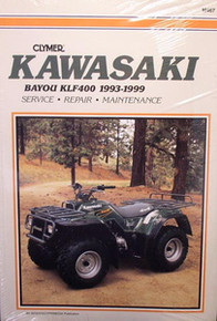 Kawasaki KLF400 Bayou CLYMER Service Repair Manual