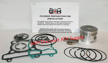 Yamaha YFM250 Moto-4 Engine Motor Top End Rebuild Kit & Cylinder Machining Service