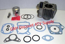 Honda ATC 70 ATV TRX Engine Motor Top End Rebuild Kit-Cylinder Machining Service, Piston Kit and Top End Gasket Set