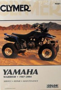 1987-2004 YFM 350 Yamaha Warrior CLYMER Repair Manual