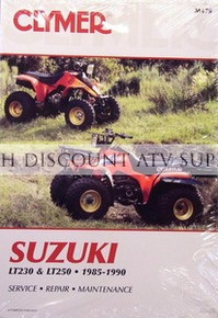NEW Suzuki LT230G LTF230G 230 Quadrunner Repair Manual