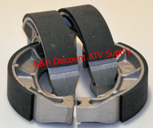 2 Sets of Front Brake Shoes for the 87-98 Suzuki LT4WD