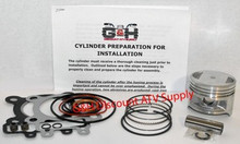 1988-2002 Kawasaki 220 Bayou Engine Motor Top Kit & Cylinder Machining Service