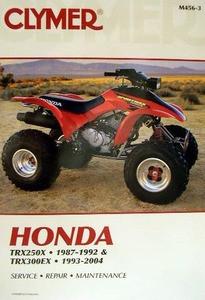 honda atv trx 250x 300ex fourtrax clymer repair manual free u s rh ghdiscountatvsupply com 1995 Honda 200 FourTrax 1993 Honda FourTrax 200