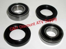 Suzuki LT160 LT 160E ATV Front Bearings & Seals Kit!
