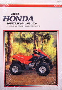 1993-2000 Honda TRX 90 Fourtrax CLYMER Repair Manual *FREE U.S. SHIPPING*