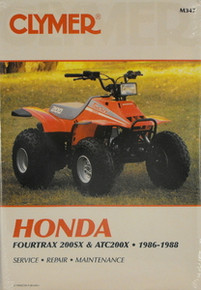 Honda 200SX 200X Fourtrax Clymer Repair Manual *FREE U.S. SHIPPING*