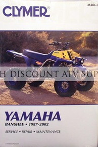 Yamaha YFZ 350 Banshee CLYMER Service Repair Manual *FREE U.S. SHIPPING*