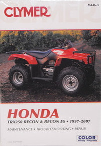 Honda TRX 250 RECON Clymer Repair Manual *FREE U.S. SHIPPING*