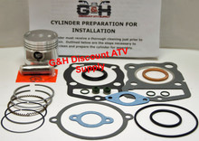1986-1987 Honda ATC 125M Three-wheeler Engine Top End Rebuild Kit Machining Service