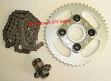 1985-1986 Honda TRX125 428 x 92 Drive Chain Front Rear Sprocket Kit 13T 50T *FREE U.S. SHIPPING*