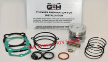 1990-1997 Honda TRX 200D Type II 1984 Honda TRX 200 Top End Rebuild Kit Machining Service