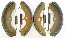 2 Sets Front Brake Shoes & Springs Honda 1985 FL 350 Odyssey ATV *FREE U.S. SHIPPING*