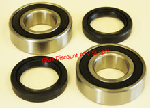 NEW 1988-2004 Kawasaki KLF 300 Bayou Rear Differential & Axle Tube Bearings & Seals Kit *FREE U.S. SHIPPING*