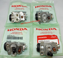 NEW OE Honda 1993-2000 Honda TRX 300 Fourtrax 4x4 FW SET of FOUR Front Brake Wheel Cylinders *FREE U.S. SHIPPING*
