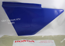 OE HONDA TRX 300 Fourtrax Kick Start Side Cover SOUTHERN BLUE 83500-HM4-730ZD