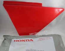 OE HONDA TRX 300 Fourtrax Kick Start Side Cover PASSION RED