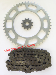 1980 Honda ATC 185 520X90 Link Chain 11 Tooth Front and 47 Tooth Rear Sprockets Set *FREE U.S. SHIPPING*