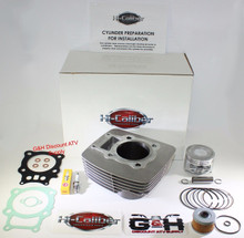 NEW TOP QUALITY HONED 2000-2006 Honda TRX 350 Rancher Engine Motor Cylinder Top End Rebuild Kit