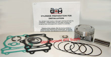 2003-2009 Arctic Cat 400 2x4 4x4 Top End Rebuild Kit Machining Service