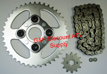 Honda TRX 200SX Chain and Sprockets Set *FREE U.S. SHIPPING*