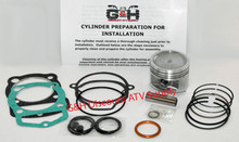 Honda Atc 200 200E 200ES Big Red Engine Top Rebuild Kit & Machining Service