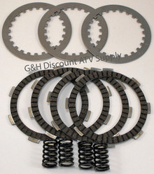 1984-1985 Honda ATC 200M Clutch Rebuild Kit with Springs Plates Discs *FREE US SHIPPING*